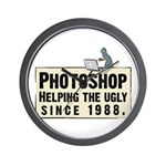 Photoshop - Helping the Ugly Wall Clock