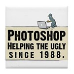 Photoshop - Helping the Ugly Tile Coaster