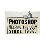 Photoshop - Helping the Ugly Rectangle Magnet