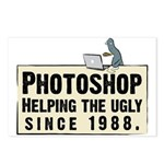 Photoshop - Helping the Ugly Postcards (Package o