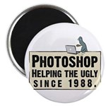 """Photoshop - Helping the Ugly 2.25"""" Magnet (10 pac"""
