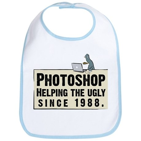 Photoshop - Helping the Ugly Bib