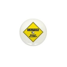 WHEAT ALLERGY Mini Button (10 pack)