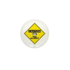 EGG ALLERGY Mini Button (10 pack)