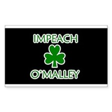 Impeach O'Malley Rectangle Decal