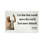 Socrates 9 Rectangle Magnet (100 pack)