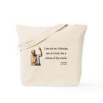 Socrates 10 Tote Bag