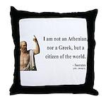 Socrates 10 Throw Pillow
