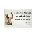 Socrates 10 Rectangle Magnet (100 pack)