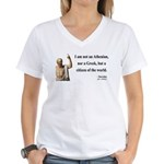 Socrates 10 Women's V-Neck T-Shirt