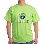 World's Coolest COBBLER Green T-Shirt