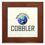 World's Coolest COBBLER Framed Tile