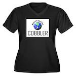 World's Coolest COBBLER Women's Plus Size V-Neck D