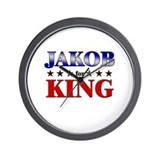 JAKOB for king Wall Clock