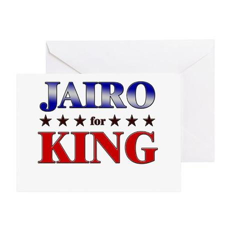 JAIRO for king Greeting Card