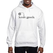 Knit geek hoodie