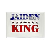 JAIDEN for king Rectangle Magnet