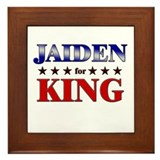 JAIDEN for king Framed Tile