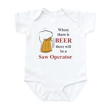 Saw Operator Onesie