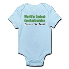 World's Coolest Czechoslovakian Infant Bodysuit