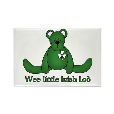 Wee little Irish Lad Rectangle Magnet