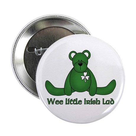 Wee little Irish Lad 2.25&quot; Button