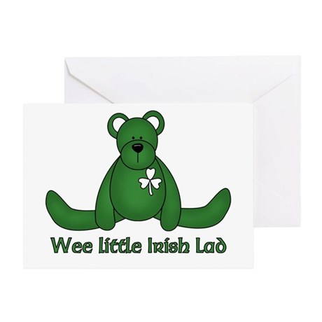 Wee little Irish Lad Greeting Card