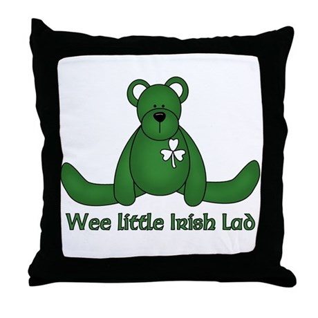 Wee little Irish Lad Throw Pillow