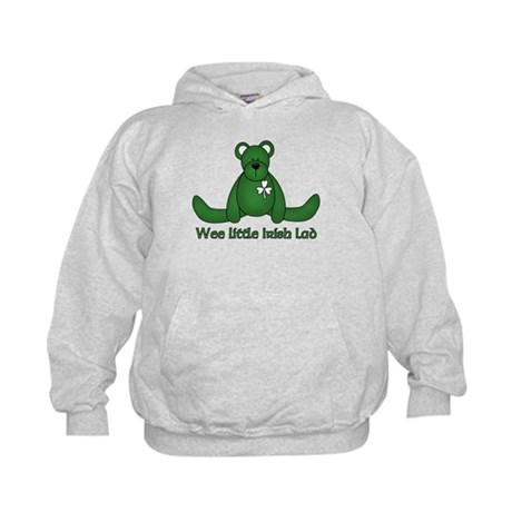 Wee little Irish Lad Kids Hoodie