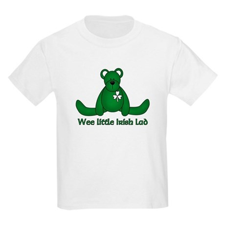 Wee little Irish Lad Kids Light T-Shirt