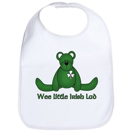 Wee little Irish Lad Bib