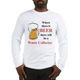 Waste Collector Long Sleeve T-Shirt