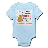 Warehouse Worker Infant Bodysuit
