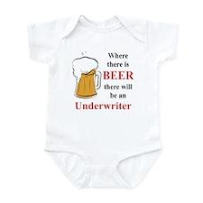 Underwriter Infant Bodysuit