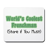 World's Coolest Frenchman Mousepad