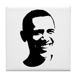 Barack Obama Portrait Tile Coaster