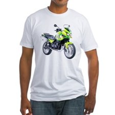 Triumph Tiger Motorbike Light Green Shirt