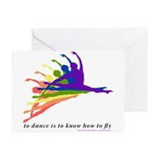 Grande Jete Blank Cards (Pk of 20)