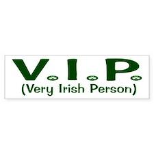 VIP Bumper Bumper Sticker