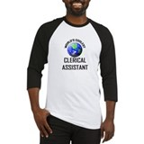 World's Coolest CLERICAL ASSISTANT Baseball Jersey