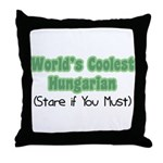World's Coolest Hungarian Throw Pillow