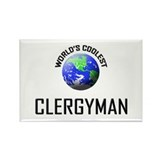 World's Coolest CLERGYMAN Rectangle Magnet (10 pac