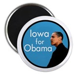 Iowa for Obama Refrigerator Magnet