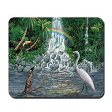 Rainforest Waterfall Mousepad