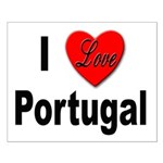 I Love Portugal Small Poster