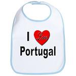 I Love Portugal Bib