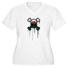 Welsh Punk Skull T-Shirt