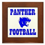 Panther Football Framed Tile