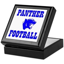Panther Football Keepsake Box