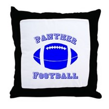 Panther Football Throw Pillow